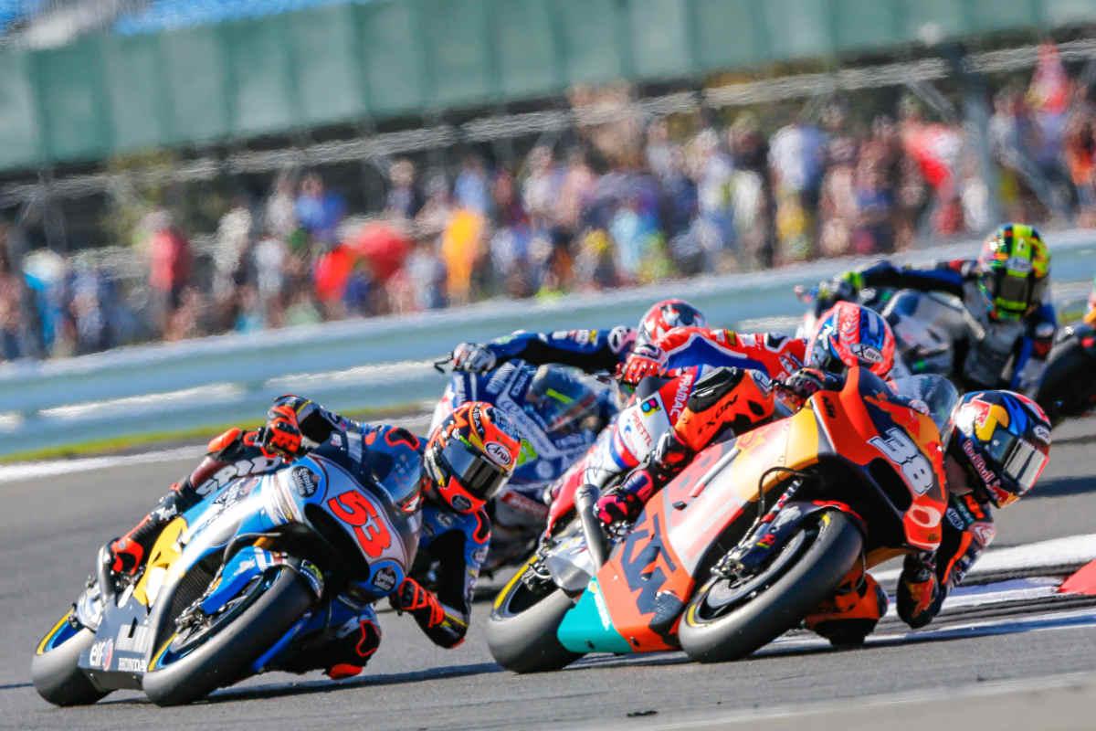 Hospitality Starting Grid - British MotoGP 2018